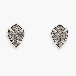 🍀Lucky Brand Diamond Druzy Stud Earrings